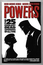 POWERS THE 25 COOLEST DEAD VOL.12 / BENDIS , OEMING / ICON COMICS V.O ANGLAIS