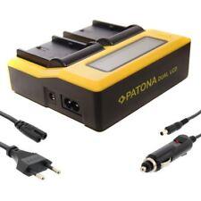 PATONA Dual Doppel Ladegerät Set für Akku LP-E6 LPE6 LP-E6N LPE6N Dualcharger