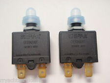 CIRCUIT BREAKERS DC MARINE PUSH TO RESET 13091 5 AMP ETA 2 PAC C1221/24 CLEAR