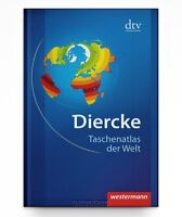 Diercke - Taschenatlas der Welt - Physische u. politische Karten * Taschenb. Neu