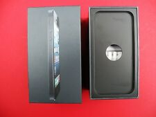 Apple - iPhone 5 - Black - 16GB - Black - Headphone Case & BOX ONLY