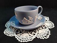 Wedgwood ~Blue Jasperware~ Tea Cup and Saucer #Gorgeous