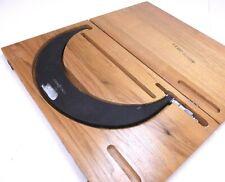 Scherr Tumico Outside Micrometer 11 12 00001 Grad With Wooden Case
