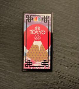 Tokyo 2020 NBC  media pin