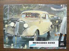 Mercedes - Benz Diesel 170 D Ad Foldout Brochure 1951