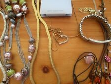 COLLECTION/ JOB LOT VINTAGE JEWELLERY-  iNC. CHINA NECKLACES ETC.
