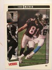 2001 Upper Deck Victory #16 - Terance Mathis - Atlanta Falcons