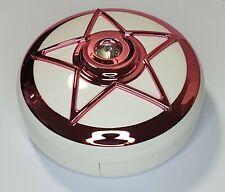 Chrome Lentes de lente de contacto de color rosa Pentagrama Kit de Viaje Espejo caso