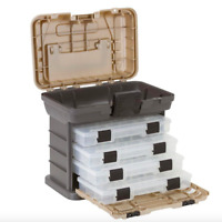 Plano 37 Compartment Small Parts Tool Box Storage Organizer Tray Container Tote