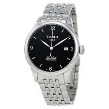 Tissot Le Locle Chronometre Black Dial Stainless Steel Mens Watch T0064081105700