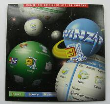 Genuine WinZIP 8.1 software Retail sealed package