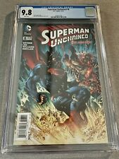 Superman Unchained #8 CGC 9.8 Scott Snyder Jim Lee DC Comics