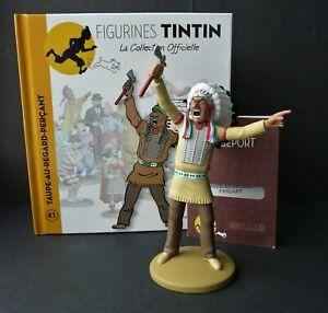 "LARGE 5"" TINTIN FIGURINE ""OFFICIAL COLLECTION"" #M41 TAUPE-AU-REGARD-PERÇANT"