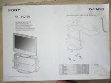 SONY SU-PG100 base da pavimento per tv a schermo piatto *NUOVO/IMBALLATO*