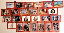 1990 The Wizard of Oz Judy Garland 50th Anniversary Commemorative Card Set