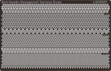 Alliance Model Works 1:32 1:35 1:48 Bolt-Heads (Various) Hexagonal #LW35025