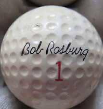 (1) BOB ROSBURG SIGNATURE LOGO GOLF BALL ( MADE IN USA CIR 1966) #1