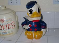 VINTAGE DONALD DUCK COOKIE JAR  Early 1940's  Very Nice condition!!