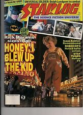 Starlog No.181 1992 DOLPH LUNDGREN, LAND OF THE GIANTS, VOYAGE TO BOTTOM OF SEA
