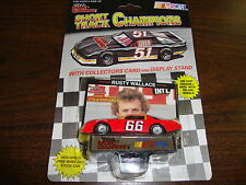 Rusty Wallace---Short Track Champions---1:64 Scale Diecast---Card & Stand---1994