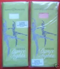 Ballet /Dance Tights.White or Pink 30 Denier.All Sizes