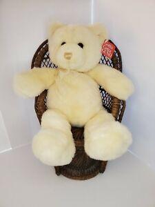Vintage Gund Yellow Golden Tender Teddy Bear 16 Inch Plush Toy NWT classic plush