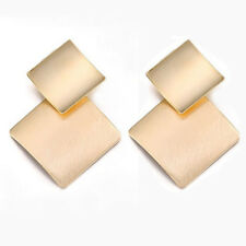 Women Gold Geometric Dangle Drop Ear Stud Earrings Party Jewelry Xmas Gift