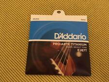 EJ87T USA MADE - D'Addario Titanium Tenor Ukulele Strings