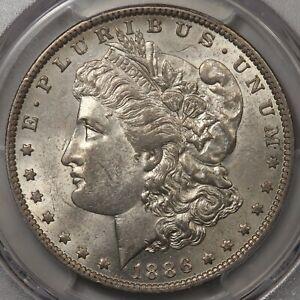 1886-O Morgan Dollar PCGS & CAC AU-58! Original! Big $ Jump to MS!!