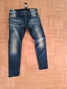 Herren Diesel Jeans In W.34 L.30 Slim Skinny Blau  kt.6