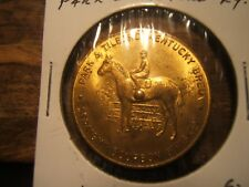 "PARK TILFORD KENTUCKY BRED BOURBON WHISKEY ""SPINNER"" Good Luck Token LOUISVILLE"