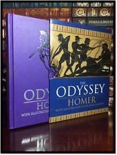 The Odyssey of Homer Brand New Illustrated Deluxe Cloth Bound with Slipcase