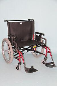 Rollstuhl XXL Sunrise Medical Quickie M6 SB70  295 Kg Faltfahrer Faltbar #7555
