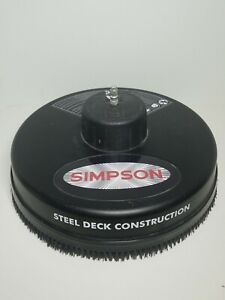 "Simpson 15""  Surface Cleaner Pressure Washer Attachment 3600 PSI 80165"