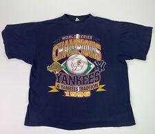 Vintage (Men's M/L) New York Yankees 1996 World Series Champions T Shirt
