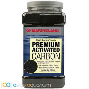 Marineland Black Diamond Aquarium Carbon 40 oz Premium Activated Carbon