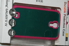 CASE LOGIC DURABLE PROTECTIVE CASE FOR SAMSUNG GALAXY S4 TEAL AND PINK