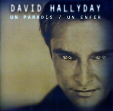 DAVID HALLYDAY : UN PARADIS - UN ENFER / CD - TOP-ZUSTAND