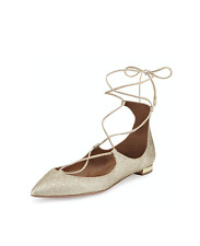 861de9d79 Aquazzura Leather Ballet Flats for Women for sale | eBay