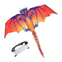 Dragon Kite Single Line Stunt Kite Outdoor Sports Toy Children kids