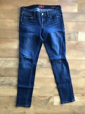 Lucky Brand Women's Charlie Skinny Mid Rise Blue Denim Jeans Size 8 / 29 -A1