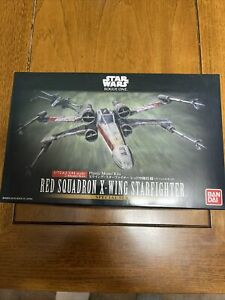 Star Wars Bandai 1/72 ONLY RED SQUADRON X-WING STARFIGHTER Model Kits #210522