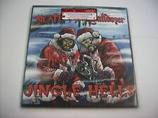 "DEATH SS / BULLDOZER - JINGLE HELLS - 10"" BLACK VINYL NEW 2014 - NR. COPY # 412"