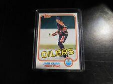 1981-82 Topps Hockey Singles