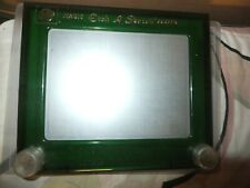Etch A Sketch Magic Screen Ohio Art World of Toys No. 505 Green Rare