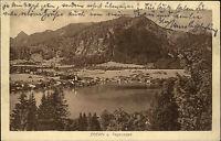 Rottach Egern am Tegernsee Bayern Oberbayern 1924 Totale alte Ansichtskarte