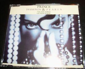 Prince Diamonds & Pearls 4 Track (German) CD Single
