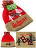 San Francisco SF The Bay Area New Beanie Cuffed Pom 49ers Red Gold Era Hat Cap