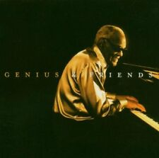 RAY CHARLES GENIUS AND FRIENDS R&B SOUL BLUES JAZZ MUSIC CD NEW