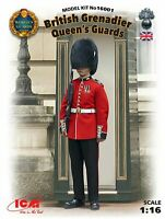 ICM 1:16 scale model kit - British Grenadiers Queen's Guard  ICM16001